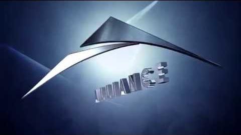 Alliance Films moving Logo