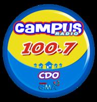 Campus Radio 100.7 Cagayan de Oro Logo 2011