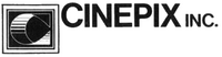 Cinepix Inc 3rd Alternate 1970s logo with text