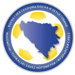 Logo of the Football Association of Bosnia and Herzegovina (2013-present)