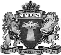 TBN Crest black and white
