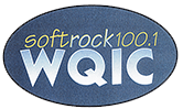 WQIC softrock100.1 logo
