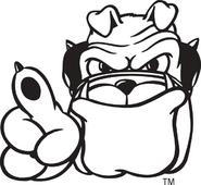 3624 georgia bulldogs-mascot-1997
