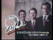 1991 Feb 9 KIII TV 3 Corpus Eyewitness News 24 Hours Promo 1