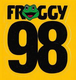 Froggy 98 KFGE