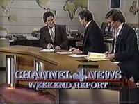 KDFW Channel 4 News weekend open - 1984