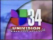 Kmex univision 34 evening opening 1996