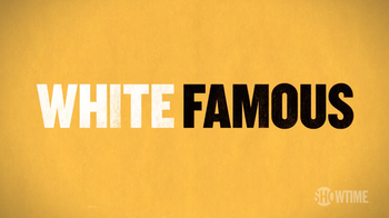 White Famous title card