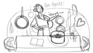 Google Julia Child's 100th Birthday (Storyboard 3)