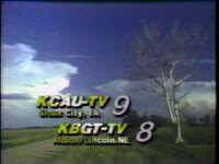 KCAU 9 station ID (1986)