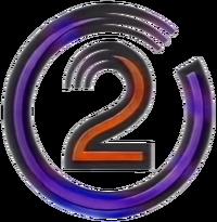 TVNZ2 purple swirl logo