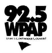 WPAP - 92.5 WPAP -May 26, 1996-