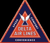 Delta 1935 - vintage airline logos