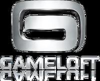 Gameloft Logo (2010; White Version; Reflective Version)