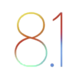 IOS 8.1 logo (improved)