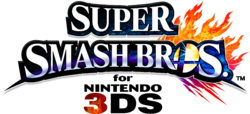 Logo EN - Super Smash Bros. 3DS