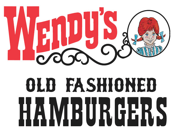 wendys history The drawing in the logo is a stylized portrait of chain founder dave thomas' daughter melinda-lou wendy thomas this is the first logo that was only used for the first restaurant.