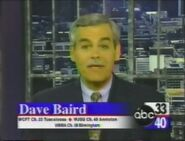 Alabama's ABC 33-40 ID with Dave Baird in 1997