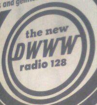 DWWW 620 kHz 1973-1979. 630 kHz 1979-1986 logo
