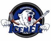 Evansville IceMen logo (2008-2009)