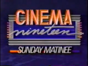 WOIO Cinema Nineteen Sunday Matinee