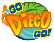Go Diego Go! - logo (English)