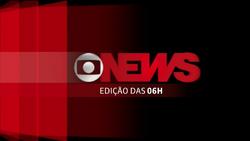 Jornal GloboNews - Edição das 06h vinheta 2013