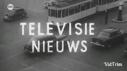 Televisie Nieuws - BRT 1953