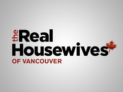 This is the logo of the Slice's reality series 'The Real Housewives of Vancouver'