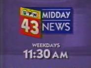 WUAB 43 Midday News