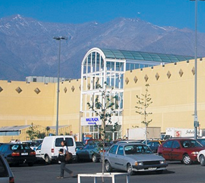 Antiguo Mall Plaza Vespucio Chile
