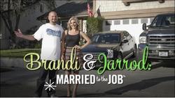 Brandi & Jarrod Married to the Job Titlecard