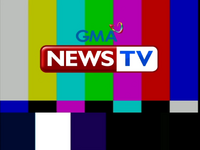 GMA News TV Channel 27 Test Card