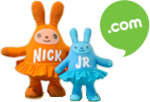 Nick Jr. Dot Com Plush Bunnies