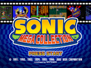 SonicMegaCollection title