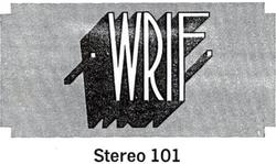 WRIF Detroit 1971