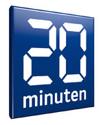 20Minuten Logo ab mai 2013