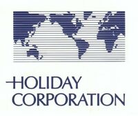 Holiday Corporation logo 1985
