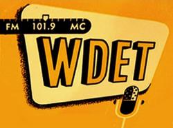WDET Detroit 1952