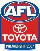 AFL Logo 2007 Premiership season