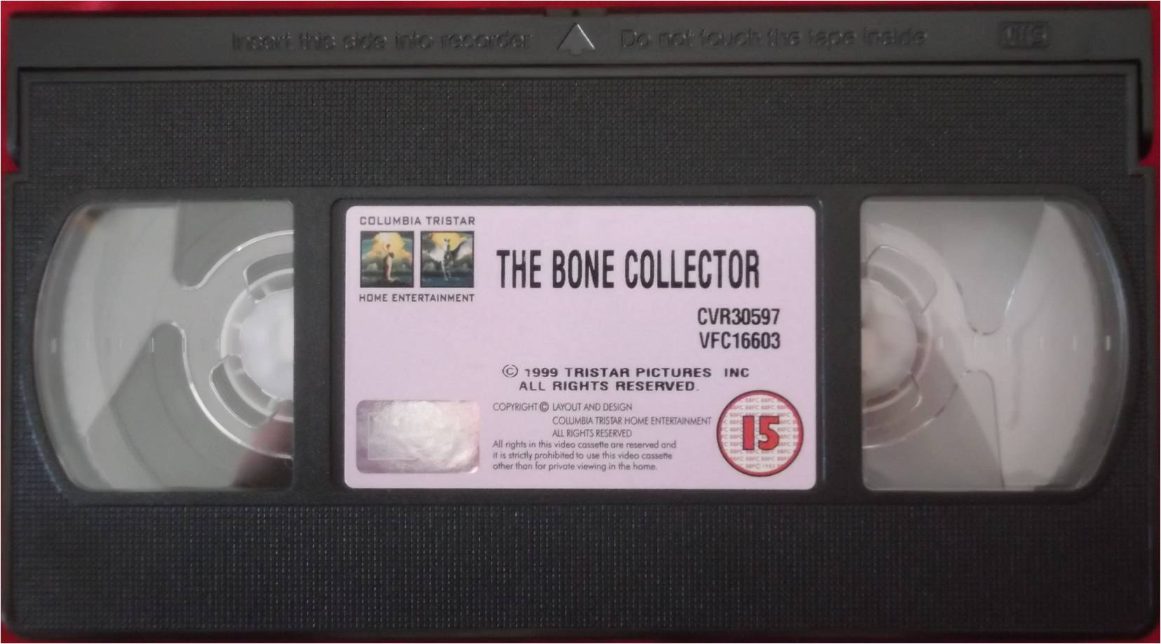 Columbia TriStar Home Video 2000 VHS Tape Example