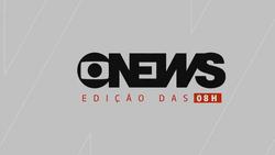 Jornal GloboNews - Edição das 08h 2017