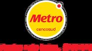 Metro logo 2013 con eslogan (2013-2018)
