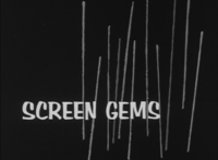 Screen Gems 1963 B&W