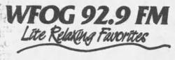 WFOG 92.9 1992