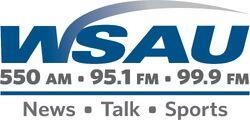 WSAU 550 AM 95.1 99.9 FM