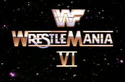 WWFWrestleManiaVI1990logo