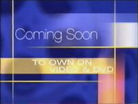 Walt Disney Studios Home Entertainment Buena Vista Coming Soon to Own on Video and DVD 1999 Logo