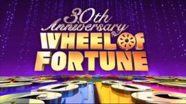30th Anniversary Wheel of Fortune Logo