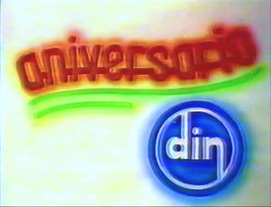 Comercial Aniversario DIN (1988)